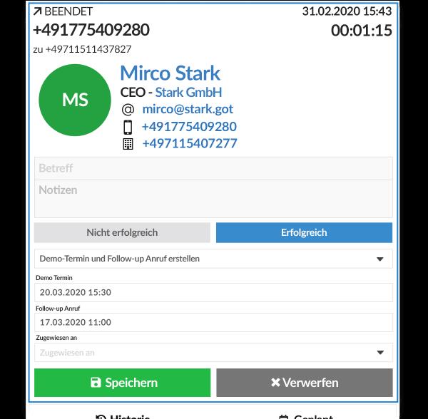 Hej CTI – verbindet Telefonie mit CRM und optimiert Prozesse in Verkauf oder Service