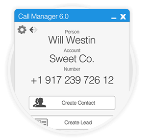 Call Manager for SugarCRM