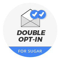 Double-Opt-In Formular für Sugar