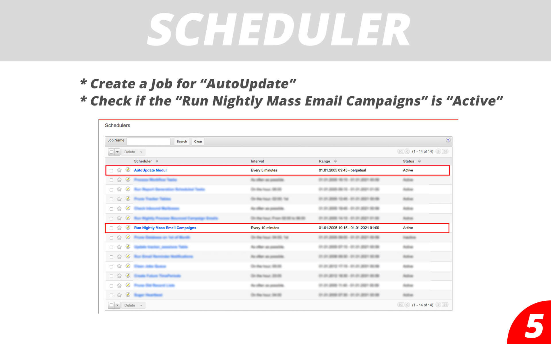 Drip Email Campaigns - Scheduler