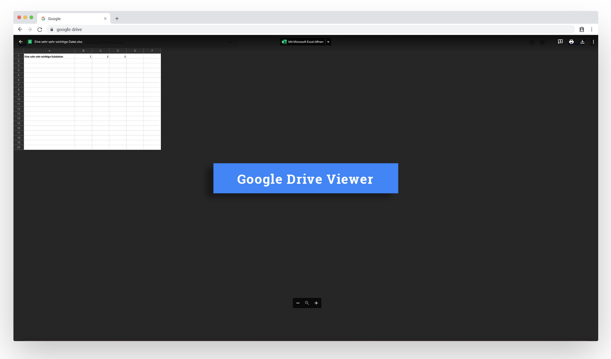 Sugar to Google Drive for File Stubbing