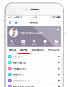 SugarCRM iOS App