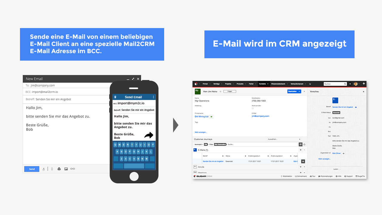 Mail2CRM - How-to