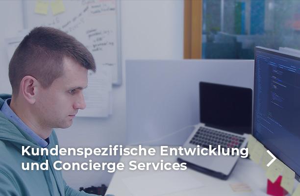 Design, Entwicklung und Managed Services