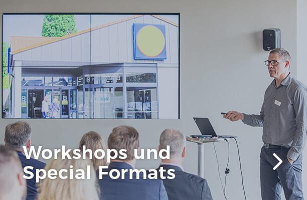 Workshops und Special Formats