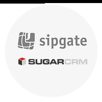 Sipgate to SugarCRM CTI Connector