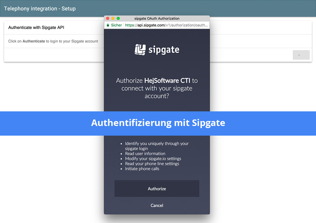 sipgate-to-suitecrm-cti-connector